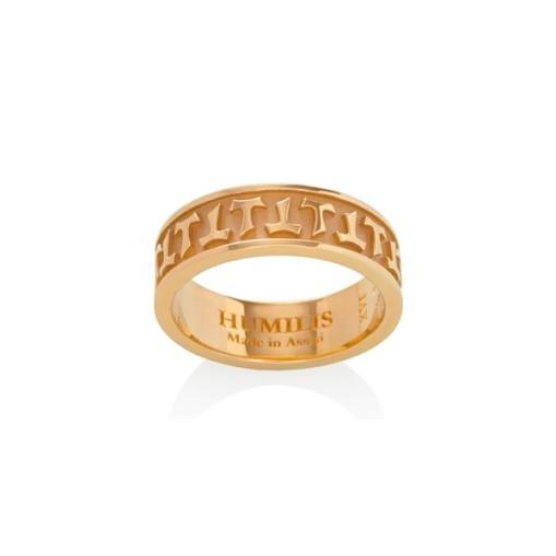 HUMILIS AN AU G Anello HUMILIS in oro giallo 18 kt 695 EURO